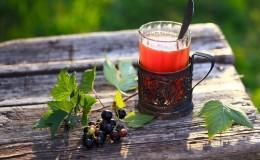 Come fare il tè dalle foglie di ribes e come è utile per il corpo