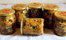 De délicieuses recettes d'aubergines sans stérilisation